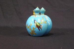 Crown Derby Double Perfume Bottle