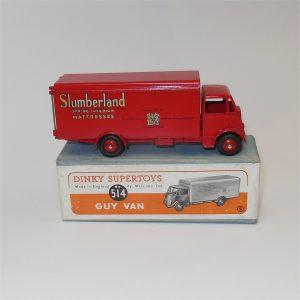 Dinky Toys Supertoys 514 Guy Van Slumberland Boxed