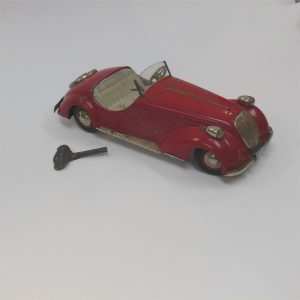Distler Wanderer Coupe Red Clockwork c1950