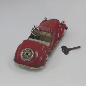 Distler Wanderer Coupe Red Clockwork c1950