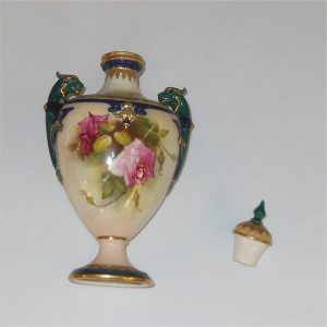Royal Worcester Urn Roses Design