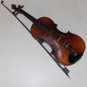 Czech Violin with Bow c1930