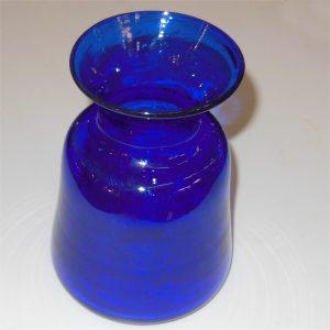 Boda Sweden Eric Hoglund Cobalt Blue Art Vase