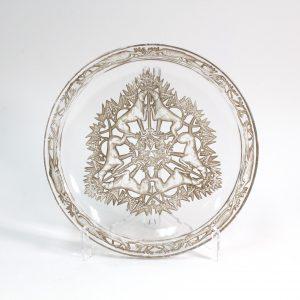 René Lalique CHASSE CHIENS Plate