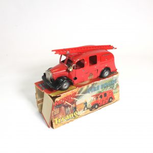 Minic 62M Fire Engine circa. 1950s