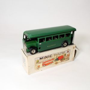 Minic Dorking Bus circa. 1950s