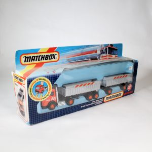 Matchbox Superkings k-145 Truck and double trailer