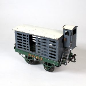 "French Hornby Meccano Cattle Wagon ""Nord"" c1930"