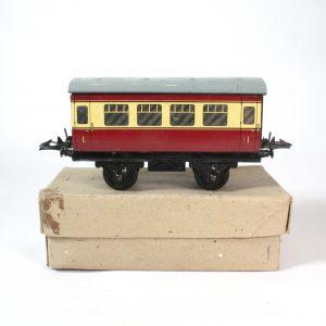 "Hornby Meccano British Rail ""Blood and Custard Coach"" c1955-05"