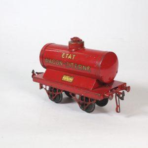 French Hornby ETAT Tank Wagon circa. 1920s