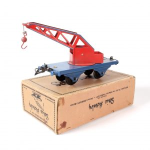 Horby Meccano O Gauge French Crane Truck circ. 1940s