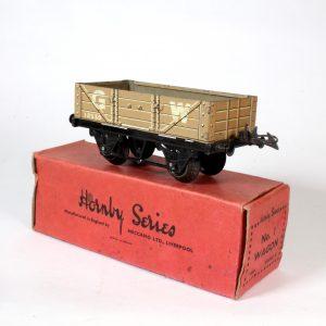 Hornby Meccano GW Open Wagon 1932-41 O Gauge