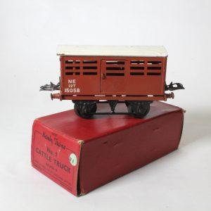 "Hornby Meccano England ""Cattle Wagon"" c1948"