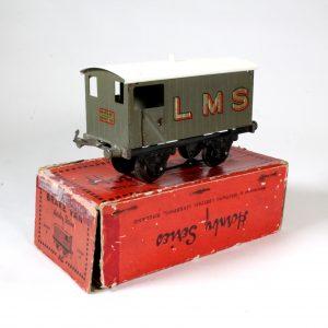 Hornby Meccano LMS Brake Van O Gauge 1930-31
