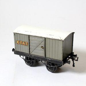 Hornby Meccano French ETAT Goods Wagon circa. 1930s