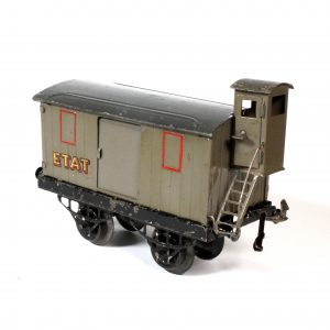 French Hornby Meccano Goods Wagon ETAT c1929 O Gauge