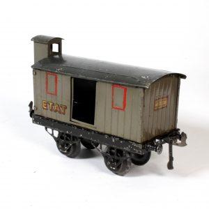 French Hornby Meccano Goods Wagon ETAT c1929 O Gauge
