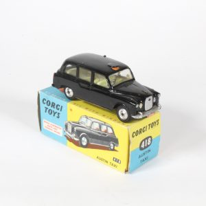 """Corgi Toys Austin FX4 """"Taxi"""" 418 1960-65"""