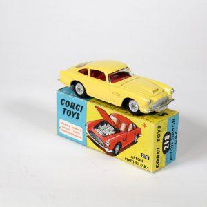 Corgy Toys Aston Martin DB4 1961-62