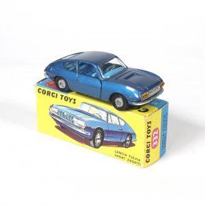 Corgi Toys Lancia Fulvia Zagato 1967-69