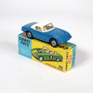 Dinky Toys 319 Lotus Elan S2 Hardtop 1967-69