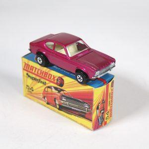 Matchbox 54c Ford Capri 1972-75