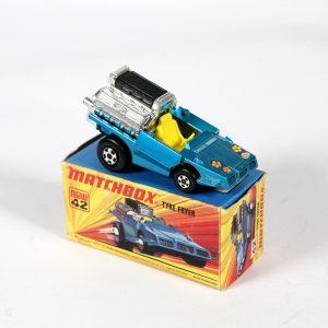 """Matchbox 42d """"Tyre Fryer"""" circa. 1972"""