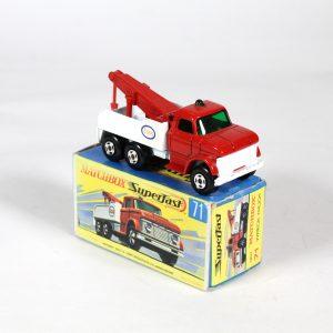 Matchbox 71c Ford Wreck Truck 1970
