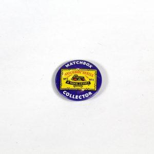 Matchbox Collectors Badge circa. 1959