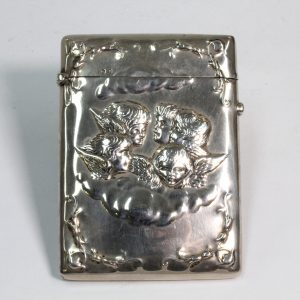 Sterling Silver Card Case 1875
