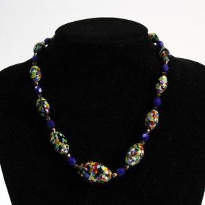 Czech 1930s Multicoloured Glass Beads