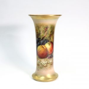 Royal Worcester Hand-painted Vase Signed William Ricketts Royal Academy Artist 1924
