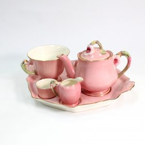 "Royal-Worcester ""Pinlk Petunia"" Breakfast Set"