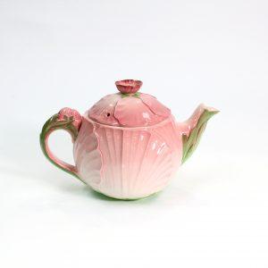 Pink Petunia Teapot