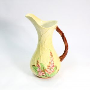 "Carlton ware Green ""Fox Glove Jug"""