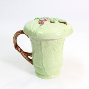 "Carlton Ware Green ""Fox Glove Chocolate Mug"""