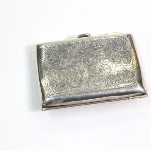 Cigarette Case with Sterling Sliver Birmingham 1916