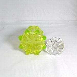Citrine/Unranium Glass Decanter