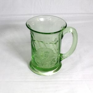 Green Glass Silver Jubilee - Royalty Mug