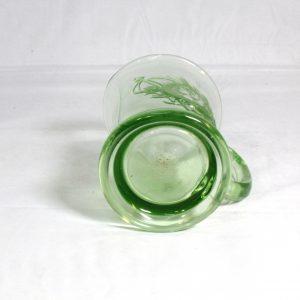 Green Glass Silver Jubilee - Royalty Mug