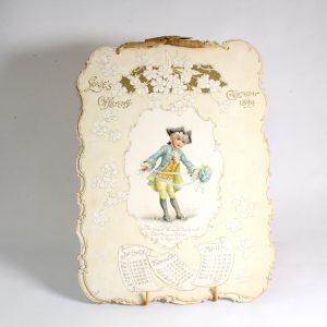Victorian Calendar 1899
