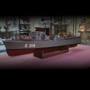 HM MGB Q 314 Motor Gun Boat 1942