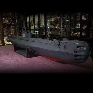H.M.S. Thule EX-325 Submarine Hand built (2meters)