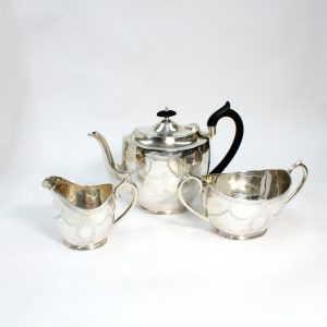 Sterling Silver 3 Piece Tea Service