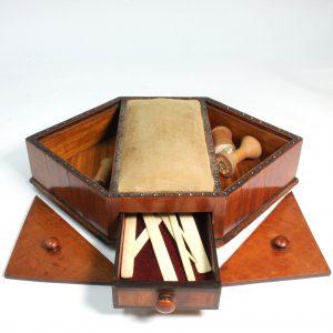 19th Century Sewing Box 1840