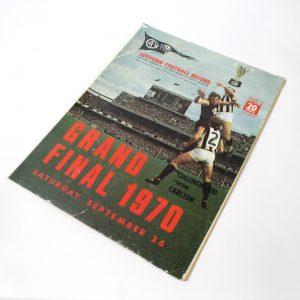 Grand Final Football Record 1971 Collingwood vs Carlton