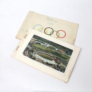 Olympic Games Melbourne 1956 Souvenir Booklet