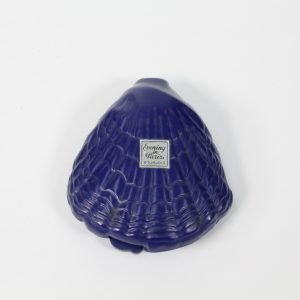"Bakelite Clam with Perfume Bottle ""Evening in Paris"""