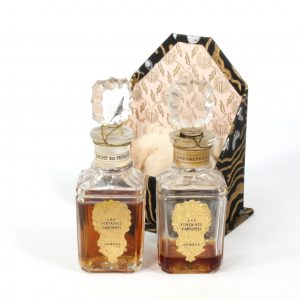 Pair of Les Fontaines Perfumes Grasse France