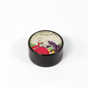 """French Parfums Compact """"Violette"""" Gueneaux"""